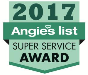 Angie List 2017 badge