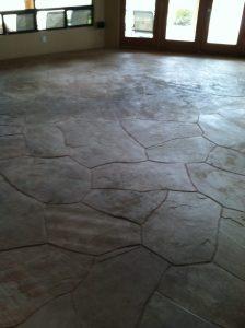 Dirty flagstone | Flagstone | Interiors | Photo Gallery | Baker's Travertine Power Clean