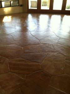 Flagstone: cleaned and sealed   Flagstone   Interiors   Photo Gallery   Baker's Travertine Power Clean