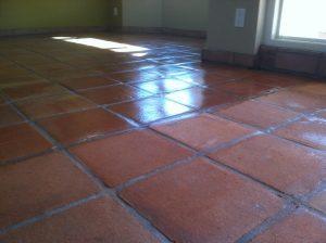 Saltillo before/after Tempe   Saltillo Interior   Photo Gallery   Baker's Travertine Power Clean
