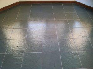 After: Slate tile in Scottsdale   Slate   Interior   Photo Gallery   Baker's Travertine Power Clean