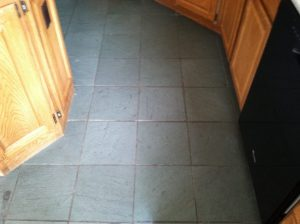 Dirty slate kitchen in Scottsdale home   Slate   Interior   Photo Gallery   Baker's Travertine Power Clean