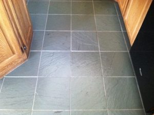 After: Slate kitchen in Scottsdale | Slate | Interior | Photo Gallery | Baker's Travertine Power Clean