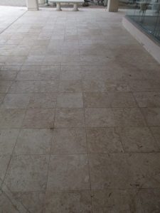 Before: Cantera patio Scottsdale   Cantera Exterior   Photo Gallery   Baker's Travertine Power Clean