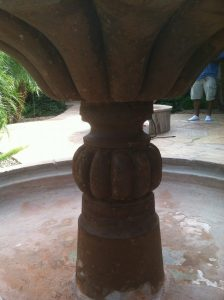 After: Cantera fountain Scottsdale | Cantera Exterior | Photo Gallery | Baker's Travertine Power Clean
