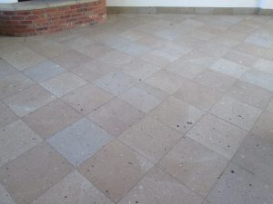 After: Cantera patio Scottsdale | Cantera Exterior | Photo Gallery | Baker's Travertine Power Clean