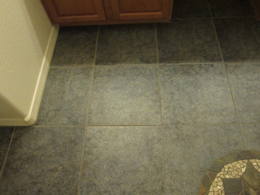Ceramic Tile Grout & Color Seal | Ceramic & Porcelain | Photo Gallery | Baker's Travertine Power Clean