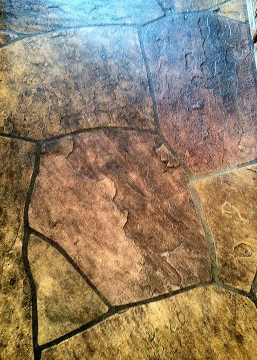 Interior Flagstone Baker S Travertine Power Clean
