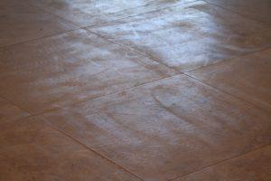 Improper grinding technique | Grinding & Lippage | Travertine | Baker's Travertine Power Clean