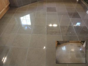 Limestone kitchen polish | Limestone Interior | Photo Gallery | Baker's Travertine Power Clean