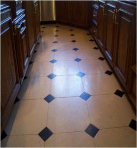 Before: Limestone kitchen   Limestone Interior   Photo Gallery   Baker's Travertine Power Clean