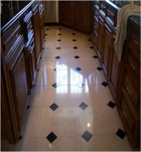 After: Limestone polish   Limestone Interior   Photo Gallery   Baker's Travertine Power Clean