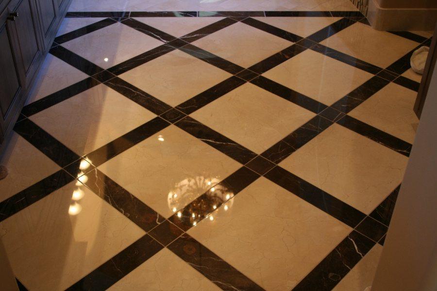 Marble bathroom   Marble   Interiors   Photo Gallery   Baker's Travertine Power Clean