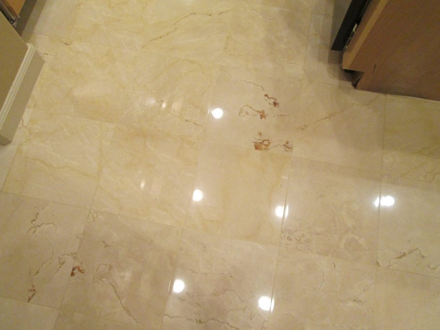After: Marble kitchen High Gloss   Marble   Interiors   Photo Gallery   Baker's Travertine Power Clean