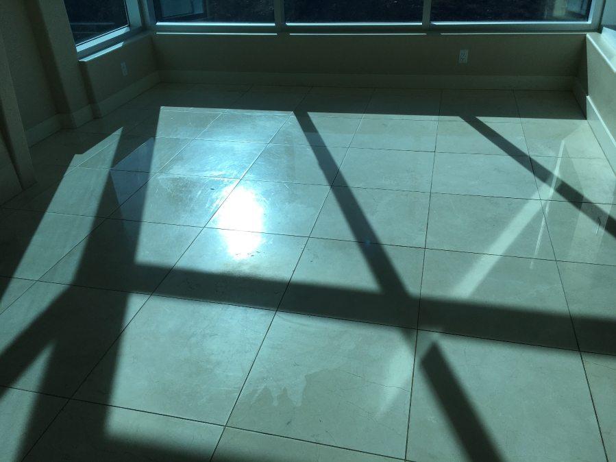 Before: Marble floor   Marble   Interiors   Photo Gallery   Baker's Travertine Power Clean