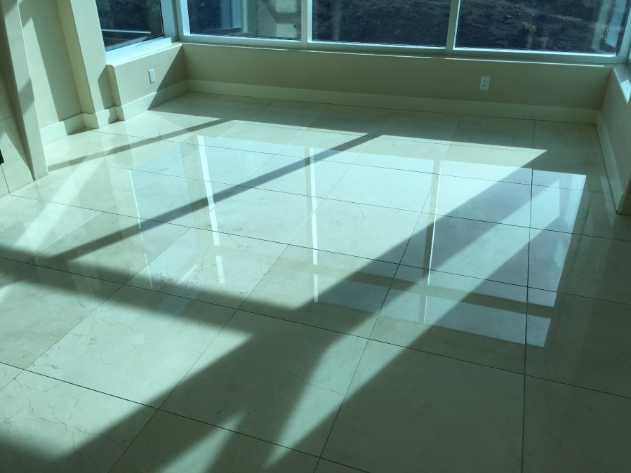 After: Marble floor   Marble   Interiors   Photo Gallery   Baker's Travertine Power Clean