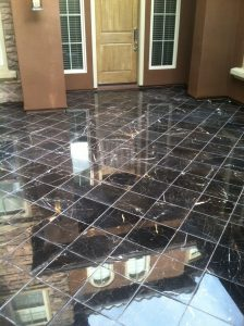 Marble patio courtyard   Marble   Interiors   Photo Gallery   Baker's Travertine Power Clean