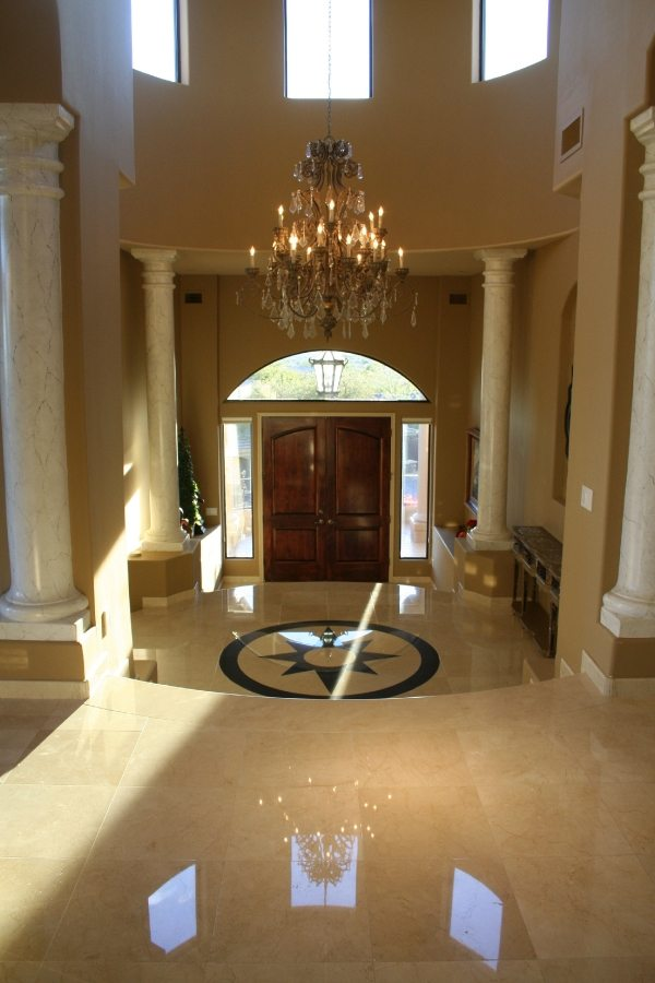 Marble Entry   Marble   Interiors   Photo Gallery   Baker's Travertine Power Clean