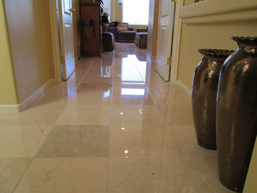 Marble High Gloss   Marble   Interiors   Photo Gallery   Baker's Travertine Power Clean