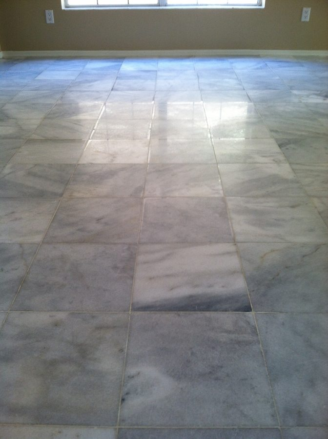 Before: Marble tile   Marble   Interiors   Photo Gallery   Baker's Travertine Power Clean