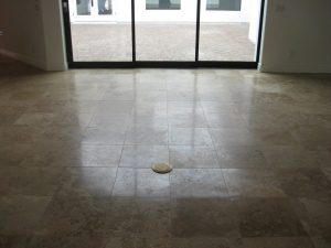 Before: Travertine in Gold Canyon