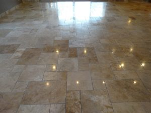 Tumbled Travertine | Tumbled Travertine Gallery | Travertine | Baker's Travertine Power Clean